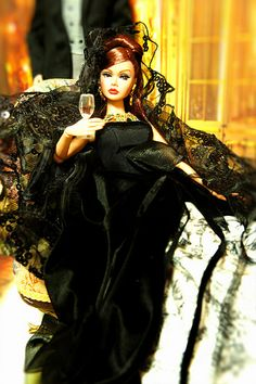 Agent Lotta Danger in a gown | Flickr - Photo Sharing!