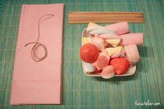 Tutoriel pour créer des bouquets de bonbons à offrir