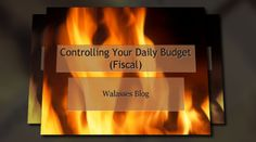 'Controlling Your Daily Budget (Fiscal)'. Click to watch the video!