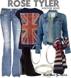 375761f0ee Inspired by Billie Piper as Rose Tyler companion of the ninth and tenth  Doctors on Doctor