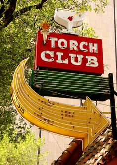 Torch Club, 904 Street Sacramento, CA. any relation to the flame club? Old Neon Signs, Vintage Neon Signs, Old Signs, Northern California, Danville California, Sacramento California, Roadside Attractions, Advertising Signs, Googie