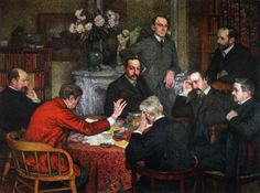 Reading the Will, Ryssleberghe