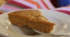 Sweet Potato Breakfast Custard | TheSweetPlantain.com | Grain-free, Dairy-free, Gluten-free