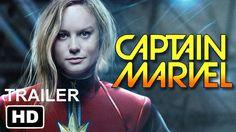 Marvel's Captain Marvel   2019 BRIE LARSON Movie Trailer