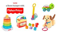Win a Fisher-Price hamper of some of their most famous toys! Fisher Price, Hamper, Joy, Glee, Being Happy, Basket, Happiness
