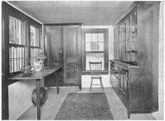 1900 Kitchen | Kitchen from 1915 Craftsman magazine. | Early 1900s Kitchens