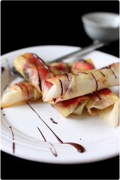 croustillants de framboise au chocolat et amandes effilées