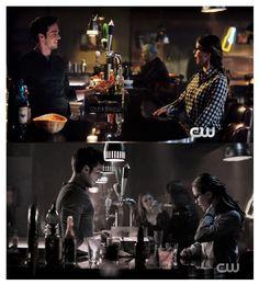 Kara and Mon-El at the bar: before and after the kiss conversation <3 |TV Shows||CW||#Supergirl edit||2x09||2x11||Kara x Mon-El||#Karamel edit||Melissa Benoist||Chris Wood|