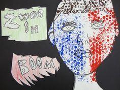 Thomas Elementary Art: 3rd Grade Roy Lichtenstein Portraits
