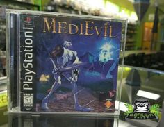 Join the mumbling knight Sir Daniel Fortesque on his epic quest! #PS1 #Retro