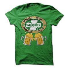 MURPHY Drinking Team T-Shirts, Hoodies. SHOPPING NOW ==► https://www.sunfrog.com/Names/MURPHY-Irish-Family-Names.html?id=41382