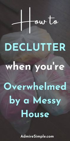 Want a clutter-free home but don't know where to start? Today, I wanted to share some handy tips on how to clean and declutter a messy house. Please check out these tips for finding your motivation to start decluttering.