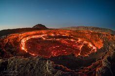 Erta Ale Volcano, Danakil Depression, Ethiopia