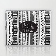 HAKUNA MATATA  Laptop & iPad Skin by Vasare Nar - $25.00