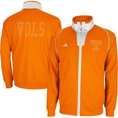 adidas Tennessee Volunteers On-Court Warm Up Jacket - Tennessee Orange