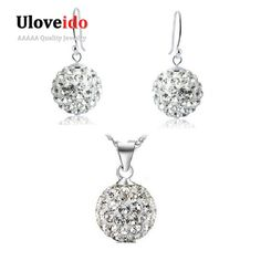 Find More Jewelry Sets Information about 50% off 925 Sterling Silver Jewellery Sets Wedding Necklace and Earring Set Fashion Bridal Jewelry Sets for Women Ulove YLD02,High Quality set filter,China set top box price Suppliers, Cheap set silver from ULOVE Fashion Jewelry on Aliexpress.com