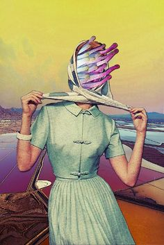 Collages by Eugenia Loli