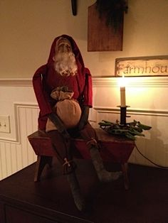 primitive country decorations for christmas pinterest | Christmas
