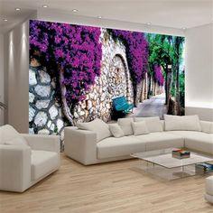 Décor mural, papier peint, 368x254 cm (4 panels) [Nature]