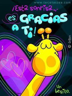 Gracias por todas las sonrisas de hoy me siento muy agradecido te amo Love Quotes, Funny Quotes, Chalk Markers, Love Phrases, Love Images, Spanish Quotes, Love Cards, Thankful, Neon Signs