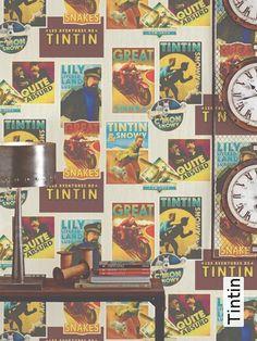 Tapete: Tintin - TapetenAgentur