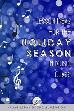 December is always a crazy time of year for music teachers. The students get more and more hyper, your schedule is unpredictable, and it's hard to keep up with effective lesson planning when you are trying to prepare for concerts, sing-alongs, and musicals. These are a few activities that I found to be very successful with my elementary music students last holiday season- they involve movement, relate to the holidays, teach and reinforce musical concepts and skills, and are just plain fun! Music Teachers, Teaching Music, Teaching Resources, Classroom Management Tips, Classroom Organization, Elementary Choir, Embrace The Chaos, Last Holiday, Lesson Planning