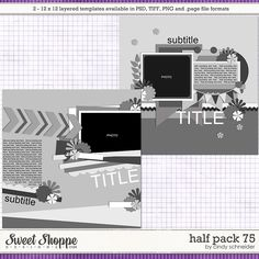Cindy's Layered Templates - Half Pack 75 by Cindy Schneider