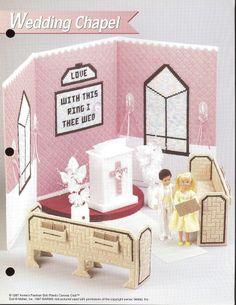 Plastic canvas doll house on pinterest fashion dolls plastic canvas