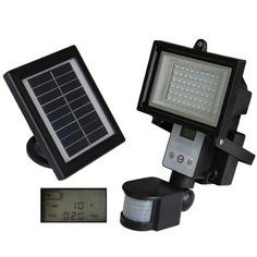 Digital 54 LED Ultra Bright Solar Powered Motion Detector Light SAVE 58% was £59.99 NOW £24.99