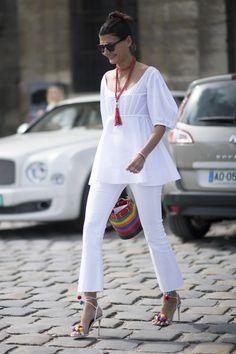 Pin for Later: Retour Sur les Meilleurs Looks Street Style de la Semaine de la Haute Couture Giovanna Battaglio