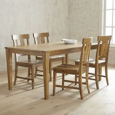 Crafted of acacia wood, our Kenner Dining Collection is rustically elegant…