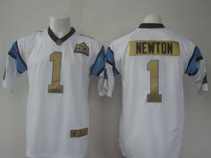 Nike Panthers 1 Cam Newton White Super Bowl 50 Generic Limited Jersey Cam  Newton 8f8319c96