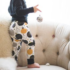 Image of HOLIDAY 2015 // Black & Gold Party Adventure Leggings
