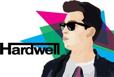Hardwell poster. Go Hardwell or Go Home by Hillary Njo