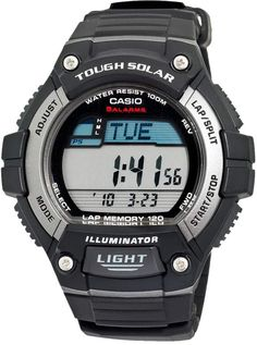 6484e87c305 Casio Men s Classic Tough Solar Digital Chronograph Watch - WS220-1AK