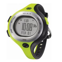 Sanity is Slow. Run Wild. Soleus Chicked Watch. $55 #Soleus #Running #Watch #Lime