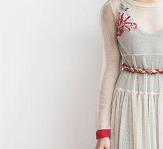 Crochelle W16-17 with handmade embroidery. www.crochelle.gr