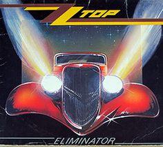 "ZZ TOP ELIMINATOR 12"" LP VINYL"