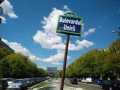Bulevardul Unirii - Bucarest - Romania