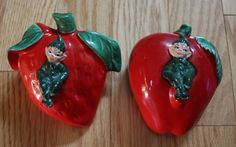 Retro Gilner California Pottery Fruit-Themed Pixie by FelicesFinds