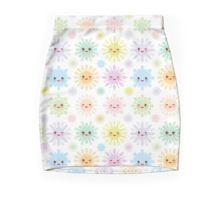 Kawaii snowflakes Pencil Skirt