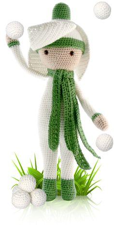 Snowdrop Sia - crochet amigurumi pattern by Zabbez / Bas den Braver