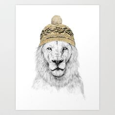 Winter is here Art Print by Balázs Solti - $14.00