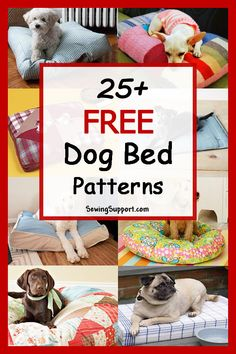 Dog Bed Diy: 25 Free Dog Bed Patterns 2019 DIY dog bed sewing patterns tutorials and projects. How to make a homemade fabric dog bed pillow or cushion. The post Dog Bed Diy: 25 Free Dog Bed Patterns 2019 appeared first on Pillow Diy. Diy Dog Bed, Diy Bed, Pet Beds Diy, Homemade Dog Bed, Cat Beds, Sewing Hacks, Sewing Tutorials, Sewing Tips, Sewing Patterns Free