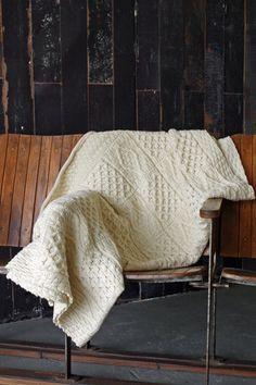 Chunky Aran Knit Throw £49 135x135cm