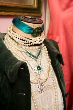 layered pearls