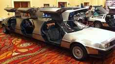 The DeLorean Limo Is For The Time-Travelling Partier ... dude I need this to start a wine tour company... so cool... just think you could also do a bat mobile one... Im sure I could come up with more if I wasn't tired...