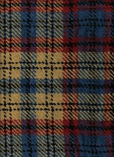 This is the Tartan of the town of Franklin. It's antiquated fabric that looks old and worn. I like it better than my family tartan and when I get a decent dress kilt made I chose this fabric.