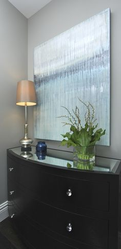 Hamptons Inspired Luxury Powder Room Robeson Design
