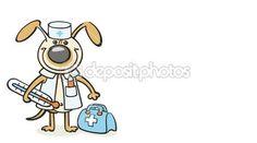 Hund - Tierarzt Doktor — Stockvideo #49270823